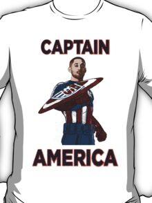 Captain America Clint Dempsey US Men's National Soccer Team T-Shirt