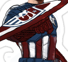 Captain America Clint Dempsey US Men's National Soccer Team Sticker