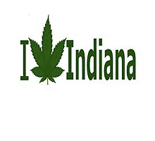 I Love Indiana  by Ganjastan
