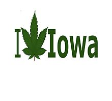 I Love Iowa by Ganjastan