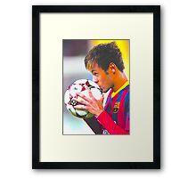 Neymar  Framed Print
