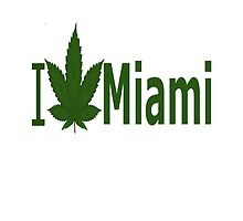 I Love Miami by Ganjastan