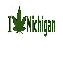 I Love Michigan by Ganjastan