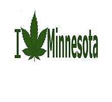 I Love Minnesota by Ganjastan