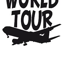 TripAdvisor World Tour World Earth Airplane by Style-O-Mat