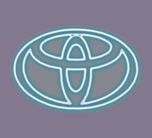 neon Toyota Badge by cloutierjade54