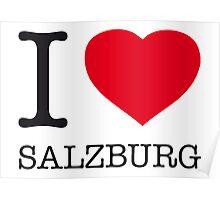 I ♥ SALZBURG Poster