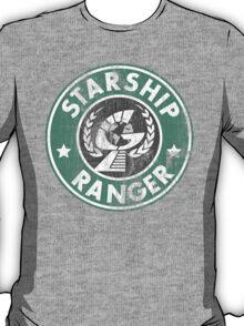 Starship Ranger: Washed starbucks style T-Shirt