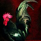 Fancy Chickens:  Crown Me Already!  My Harem is Waiting! by Bunny Clarke