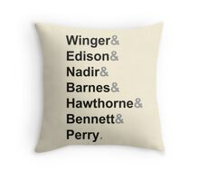The Greendale Seven Throw Pillow