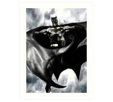 Batman, From the skies Art Print