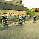 cyclists by Kevin McLaughlin