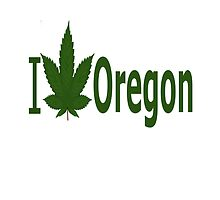 I Love Oregon by Ganjastan