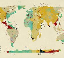 world map by bri-b