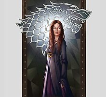 Sansa Stark by FloandFish