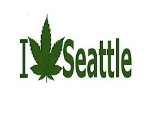 I Love Seattle by Ganjastan