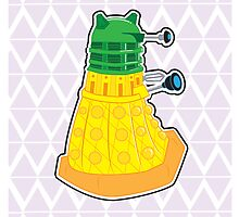 Pineapple Dalek by NikoTrash