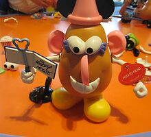 Mrs Potato Head by MFleming