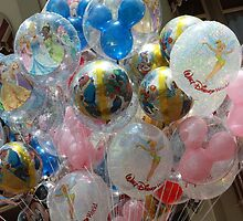 Walt Disney World Balloons by MFleming
