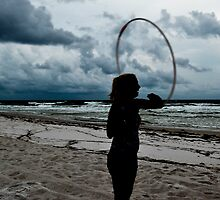 Hooping during the Storm_3 by rebeccameredith
