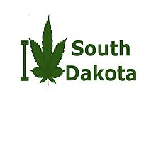 I Love South Dakota by Ganjastan
