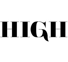 High White Typography by hipsterapparel