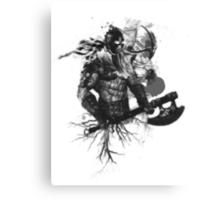 Garruk Wildspeaker in Black Canvas Print