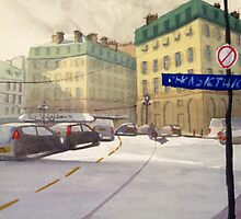 Rue Richellieu  by Xandyclause