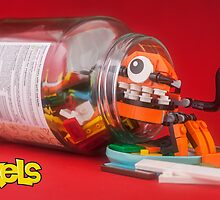 Lego Mixels Kraw - The new home by Peter Kappel