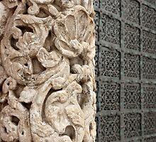 carved stone column  by mrivserg