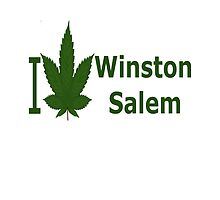 I Love Winston-Salem by Ganjastan