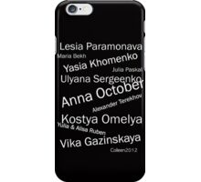 BEST OF EASTERN EUROPEAN FASHION DESIGNERS iPhone Case/Skin