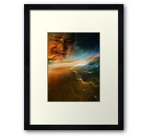 Gabe Newell Is Watching From The Stars Framed Print