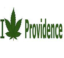 I Love Providence by Ganjastan