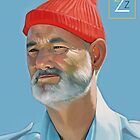 Steve Zissou by Brad Collins