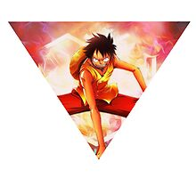 Gear Second - Luffy  by iiKyro
