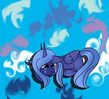 MLP:FiM Season 1 Princess Luna by bluboisen