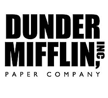 Dunder Mifflin.  by haqstar