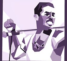 Freddie Mercury - Icon by Lian Moerenhout