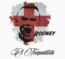 ENGLAND NATIONAL TEAM WAYNE ROONEY WC 14 FOOTBALL T-SHIRT  by sportskeeda