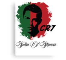 PORTUGAL CRISTIANO RONALDO WC 14 FOOTBALL T-SHIRT Canvas Print