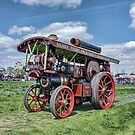 """Showmans Steam Engine """"Lord Nelson"""" by Avril Harris"""