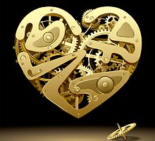 Clockwork Heart by maystra