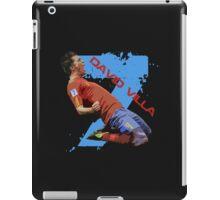 David Villa Celebration  iPad Case/Skin