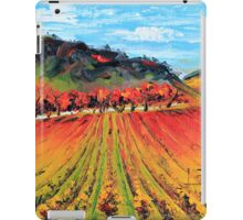 Napa Valley by Lisa Elley. Palette knife painting in oil. iPad Case/Skin