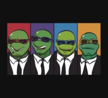 Reservoir Turtles by Aaron Morales