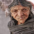 Old Zacatecas Lady Caricature by chazfoto