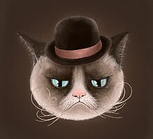Grumpy Cat by limeart