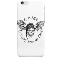 A Place of Hope and no Pain iPhone Case/Skin