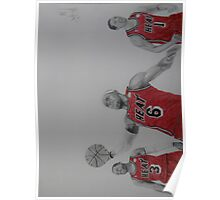 Miami Heat Big Three Poster